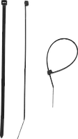 Кабельные стяжки черные КС-Ч1, 12 x 750 мм, 50 шт, нейлоновые, ЗУБР Профессионал 550, 80, 9