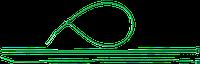 Кабельные стяжки зеленые КС-З1, 3.6 x 200 мм, 100 шт, нейлоновые, ЗУБР Профессионал 300, фото 1