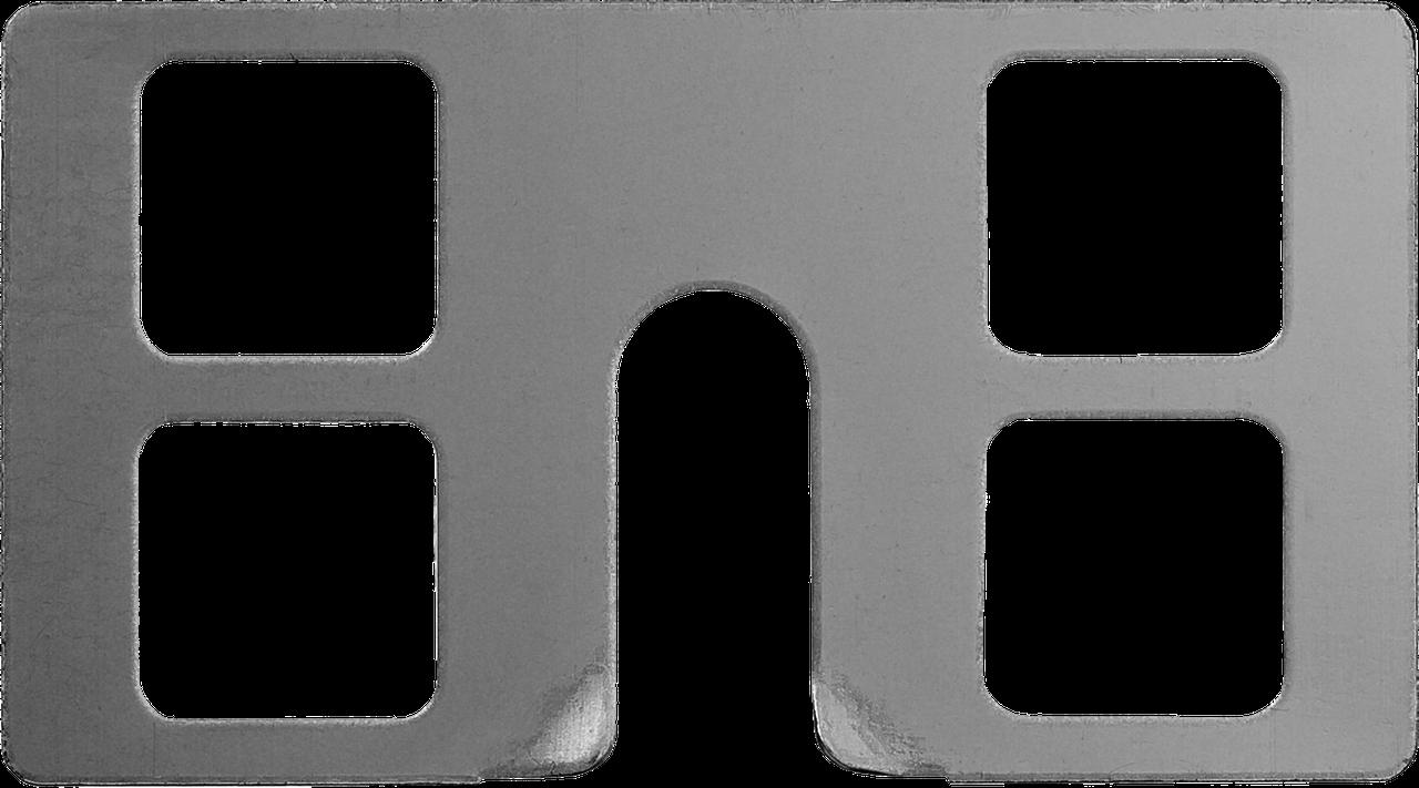 ЗУБР КРЕММЕР-50  крепление для установки маячковых профилей, 50 шт