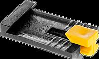 ЗАМШ-П 50 шт зажим пластиковый для маячкового профиля, ЗУБР, фото 1