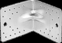 Уголок крепежный усиленный УКУ-2.0, 35х50х50 х 2мм, ЗУБР 13, 21.9, 90 х 105 х 105, фото 1