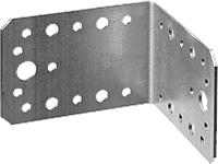 Уголок крепежный УК-2.0, 35х50х50 х 2мм, ЗУБР 11, 65 х 90 х 90, фото 1
