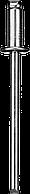 Стальные заклепки, 3.2 х 6 мм, 50 шт, ЗУБР Профессионал