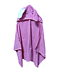 Полотенце с капюшоном уголок зайка, фото 5