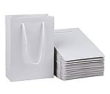 Белые бумажные и крафтовые пакеты для нанесение логотипа, фото 2