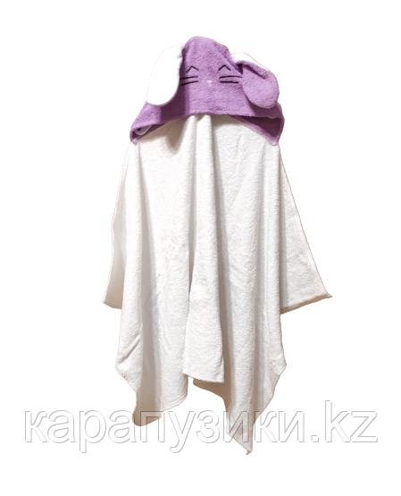 Полотенце с капюшоном уголок заинька