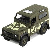 Игрушка модель военной машины 1:34-39 Land Rover Defender