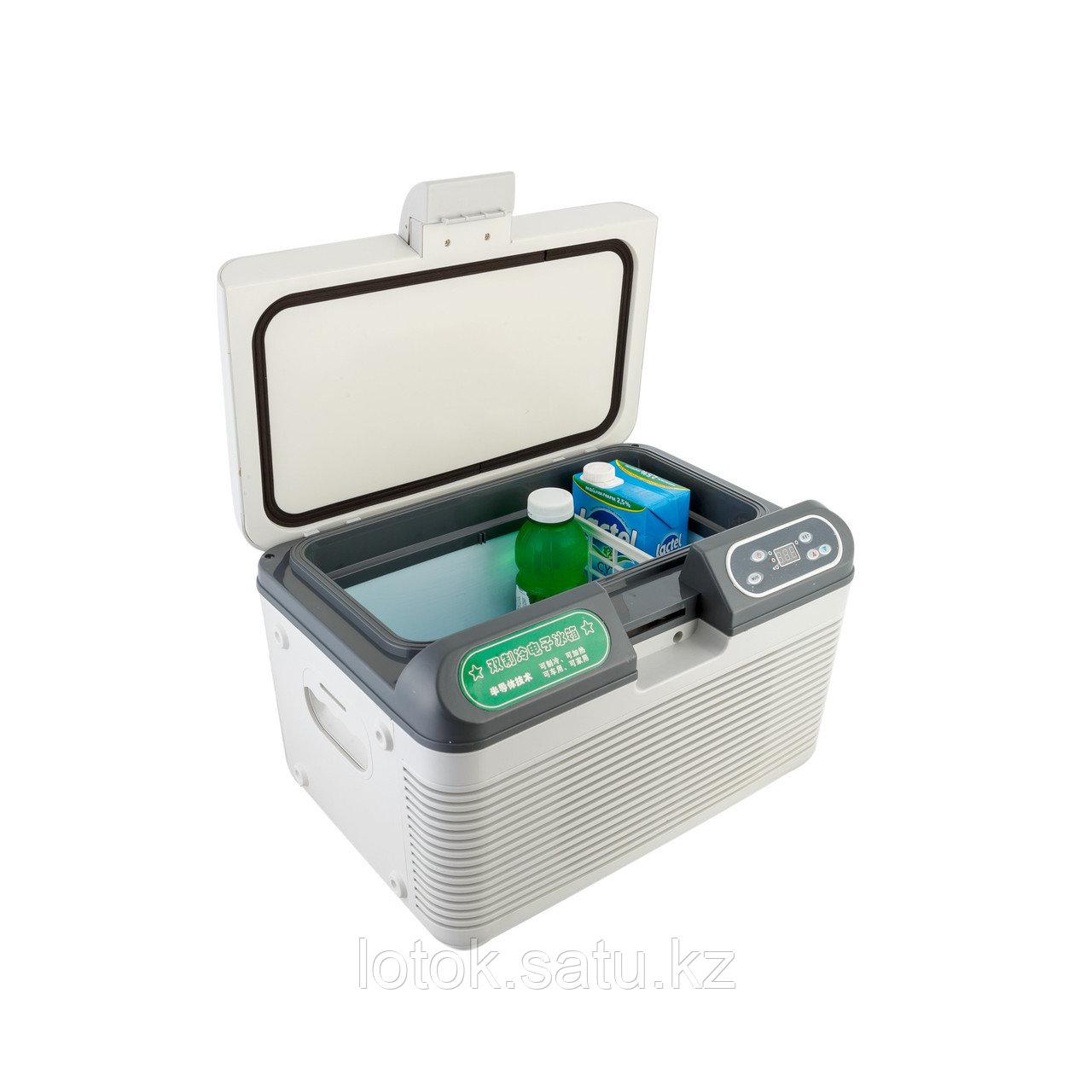 Автомобильный холодильник на 12 л с сенсорным управлением - фото 2