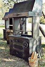 Мангал на древесном угле УММ/1 (для закрытой веранды) Grill Master
