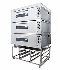 Жарочно-пекарский шкаф Шжэ/3 (секционный кр. мет+н/сталь) Grill Master