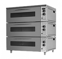 Жарочно-пекарский шкаф ШжЭ/3 (секционный н/сталь) Grill Master