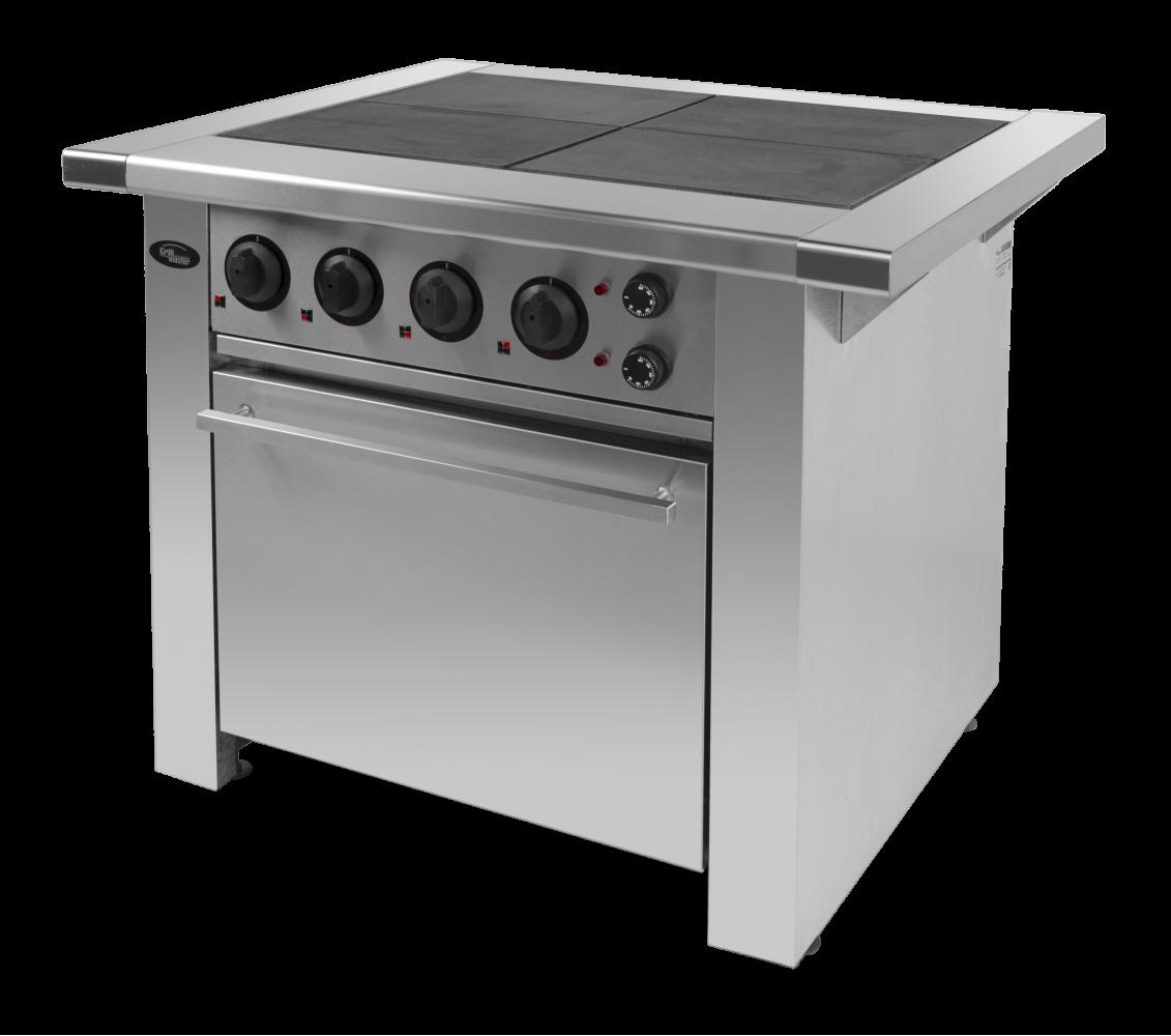 Плита электрическая с духовкой Ф4ПДКЭ/900 Grill Master