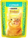 Friskies С уткой в подливе влажный корм для кошек, 85гр
