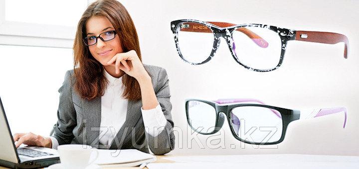 Очки для работы за компьютером в оправе - фото 1