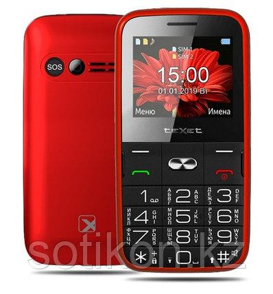 Мобильный телефон Texet TM-B227 красный, фото 2