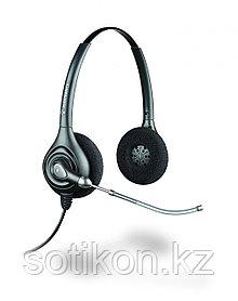 Наушники-гарнитура проводная Plantronics HW261/A черный