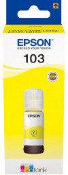 Чернила Epson C13T00S44A 103 EcoTank для L3100/L3101/L3110/L3150  жёлтый, фото 2