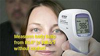 Бесконтактный инфракрасный термометр для тела Extech IR200