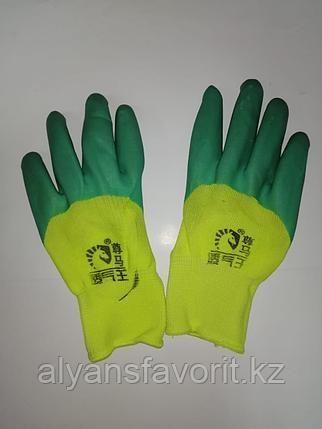 Перчатки хб с полимерным покрытием, фото 2