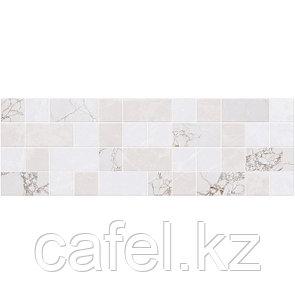 Кафель   Плитка настенная 20х60 Ринальди   Rinaldi серый декор мозайка