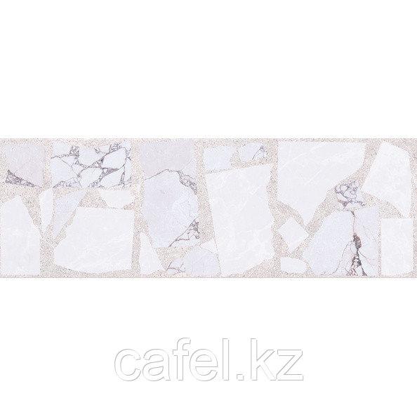 Кафель | Плитка настенная 20х60 Ринальди | Rinaldi серый декор массив