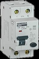 АВДТ 32 C25 - Автоматический Выключатель Дифф. Тока GENERICA