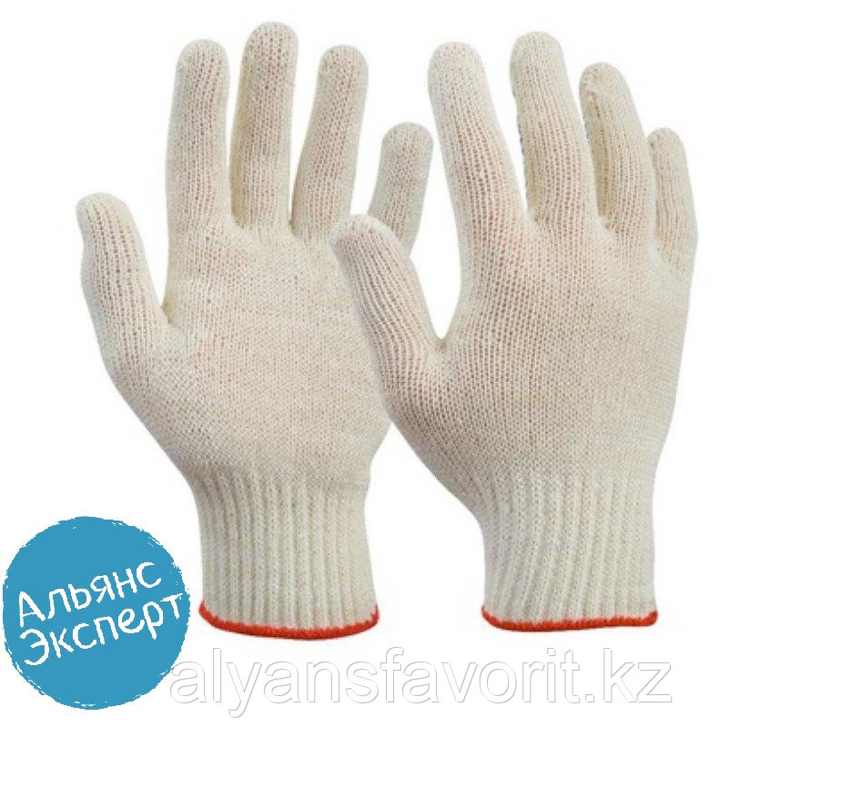 Перчатки рабочие х/б (плотные)