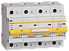 Автоматический выключатель ВА47-100 4Р  25А 10кА х-ка D ИЭК
