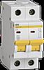Автоматический выключатель ВА47-29 2Р  1А 4,5кА х-ка В ИЭК