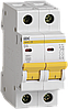 Автоматический выключатель ВА47-29 2Р  3А 4,5кА х-ка D ИЭК