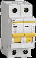 Автоматический выключатель ВА47-29 2Р  3А 4,5кА х-ка В ИЭК
