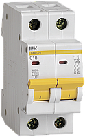 Автоматический выключатель ВА47-29 2Р 10А 4,5кА х-ка С ИЭК