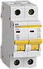 Автоматический выключатель ВА47-29 2Р 20А 4,5кА х-ка D ИЭК