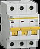 Автоматический выключатель ВА47-29 3Р 40А 4,5кА х-ка В ИЭК