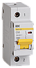 Автоматический выключатель ВА 47-100 1Р 50А 10 кА  х-ка С ИЭК