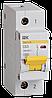 Автоматический выключатель ВА 47-100 1Р 63А 10 кА  х-ка С ИЭК