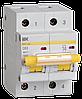 Автоматический выключатель ВА 47-100 2Р 63А 10 кА  х-ка С ИЭК
