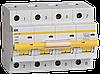 Автоматический выключатель ВА 47-100 4Р 50А 10 кА  х-ка С ИЭК