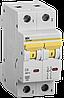 Автоматический выключатель ВА 47-60 2Р 6А 6 кА  х-ка С ИЭК