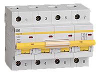 Автоматический выключатель ВА47-100 4Р 20А 10кА х-ка C IEK