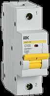 Автоматический выключатель ВА47-150 1Р 100А 15кА х-ка C IEK
