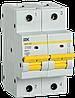 Автоматический выключатель ВА47-150 2Р 100А 15кА х-ка D IEK