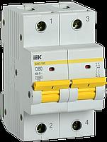Автоматический выключатель ВА47-150 2Р 80А 15кА х-ка D IEK