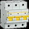 Автоматический выключатель ВА47-150 3Р 100А 15кА х-ка D IEK