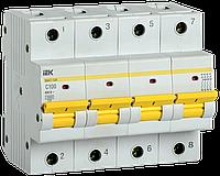 Автоматический выключатель ВА47-150 4Р 100А 15кА х-ка C IEK