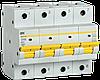 Автоматический выключатель ВА47-150 4Р 100А 15кА х-ка D IEK