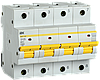 Автоматический выключатель ВА47-150 4Р 125А 15кА х-ка D IEK