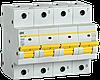 Автоматический выключатель ВА47-150 4Р 63А 15кА х-ка C IEK