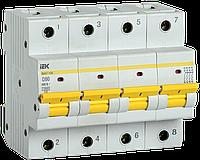 Автоматический выключатель ВА47-150 4Р 80А 15кА х-ка D IEK