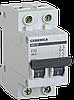 Автоматический выключатель ВА47-29 2Р 10А 4,5кА х-ка С GENERICA